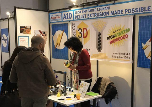 At Maker Faire Rome 2017