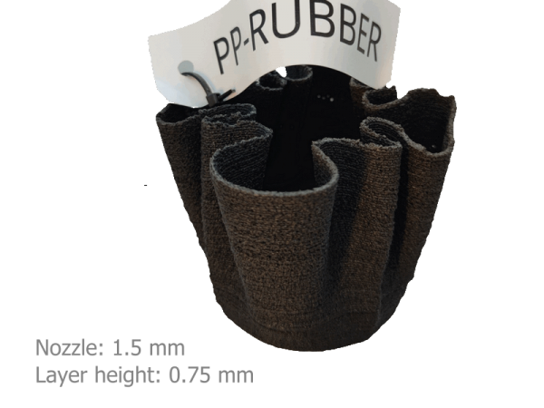 PP + recycled rubber